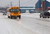 Icy streets in Moosonee 2011 February 18th.