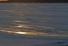 Glare on river ice 2011 April 20
