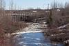 Store Creek from railway bridge