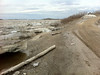 Public docks in Moosonee 1245 pm water not as high as yesterday.