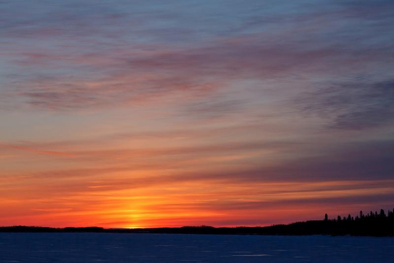 Sunrise over the Moose River 2011 April 20th