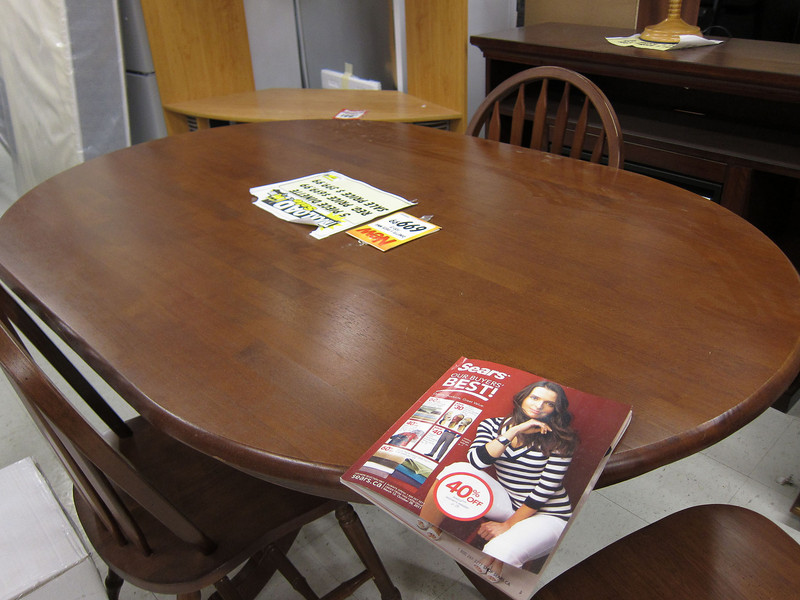Sears catalog on table for sale at Northern