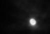 Moon in cloudy sky 2011 November 14th.