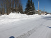 View along Revillon Road in Moosonee 2011 February 21.