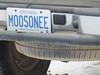 """Truck with vanity plate """"Moosonee"""""""
