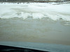 The road back toi Moosonee from Moose Factory 2011 March 17th.