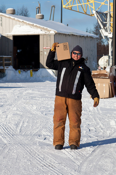 Gary Solomon, who has been living in Norway House, is back in Moosonee for a while.