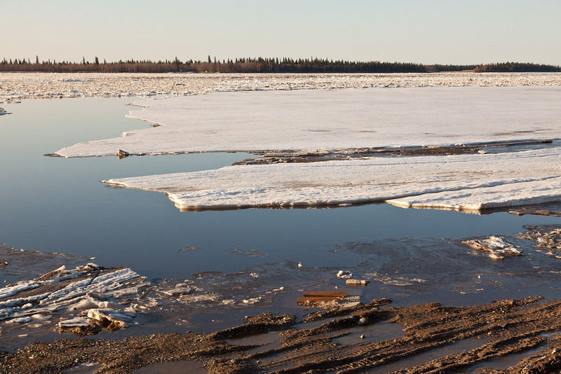 Edge of ice sheets seem from near MTL