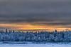 Charles Island after sunrise 2011 January 13