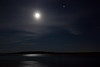Moose River by moonlight