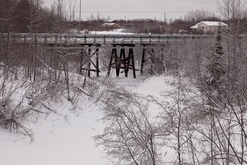 Atim Road bridge over Store Creek.