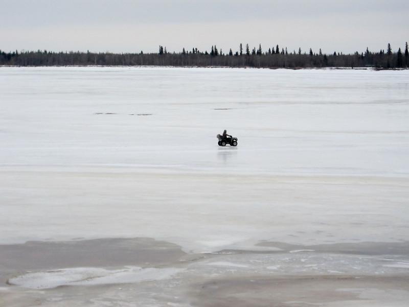 ATV on the Moose River 2011 April 16