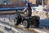 Four wheeler (ATV) on Fourth Street 2011 April 2nd