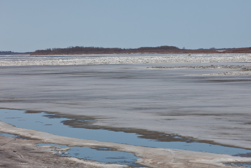 Looking down the Moose River