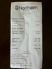 Receipt for Easter chocolate rabbits