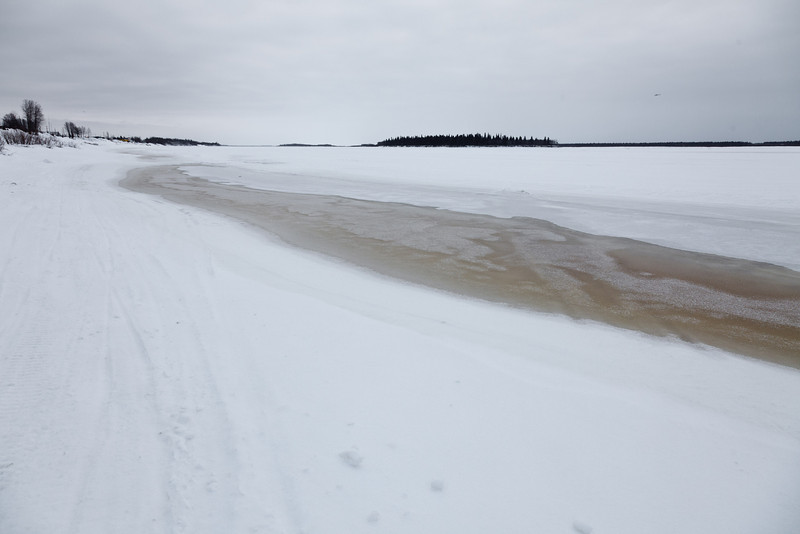 Looking down the Moose River 2011 April 6th
