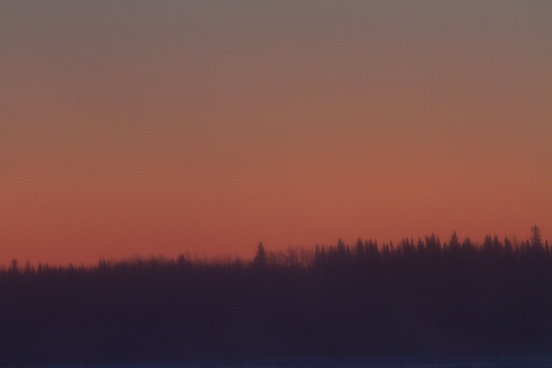 2011 December 2nd perfectly clear and perfectly cold morning looking across the Moose River.