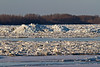 Mounds of ice on the Moose River 2011 April 29th