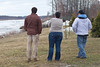 Breakup at Moosonee 2011 April 28th 345 pm