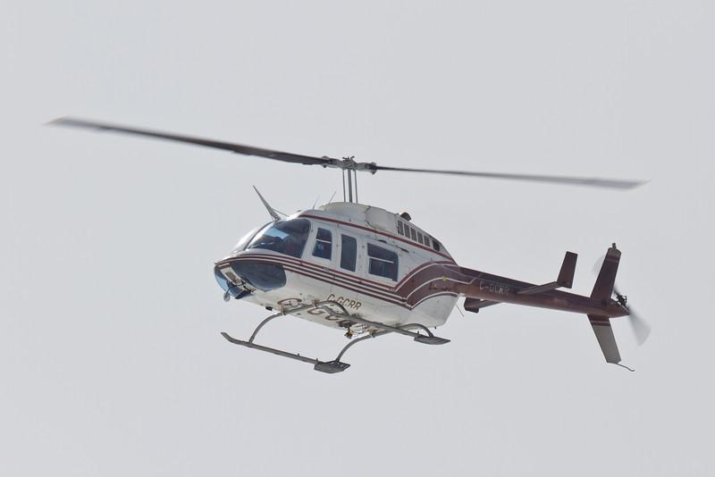 Helicopter C-GCRR at Moosonee