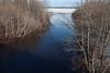 Store Creek from Ferguson Road bridge looking towards the Moose River