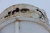 Part of Moosonee water tower tank.