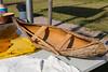 Northern College Cultural Program in Moosonee. Minature canoe.