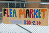 November Flea Market sign