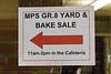 Moosonee Public School Grade 8 Yard and Bake Sale.