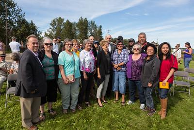 Premier Wynne in Moosonee 2016 August 11th