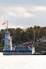 Barge Niska I in Moosonee.