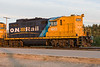 GP9 1603 in Moosonee 2006 August 26th.