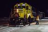 Ontario Northland Railway Christmas Train in Moosonee 2016 December 15th.