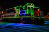 Ontario Northland Railway Christmas Train in Moosonee 2016 December 15th. Locomotive GP38-2 1809 HDR efx default.