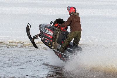 Snowmobiles and surface water 2017 April 4th