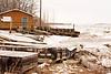 Two Bay docks in Moosonee