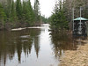 Store Creek dam still completely submerged