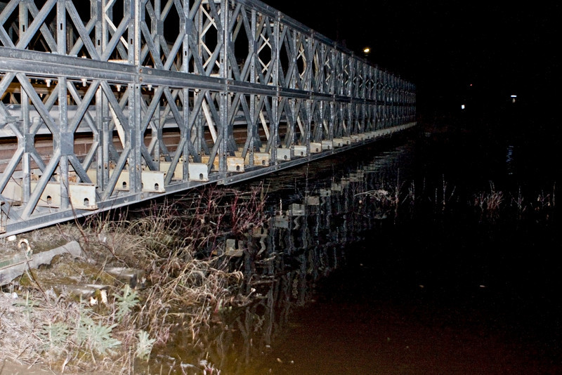 Bridge to Moosonee Airport