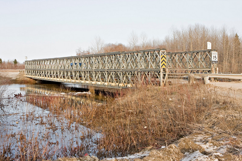 Bridge across Butler Creek in Moosonee