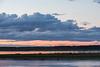 Looking across the Moose River from Moosonee before sunrise 2016 August 18th.