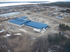 Aerial view of Moose Factory:  Moose Cree Complex