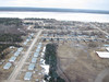 Aerial view of Moose Factory