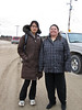 Keewataytinok Native Legal Services staff lawyer <br />  and Pauline Sackaney headed to EPR