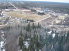 Aerial view of the former base in Moosonee.