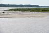End of the sandbar near Bush Island at very low tide.