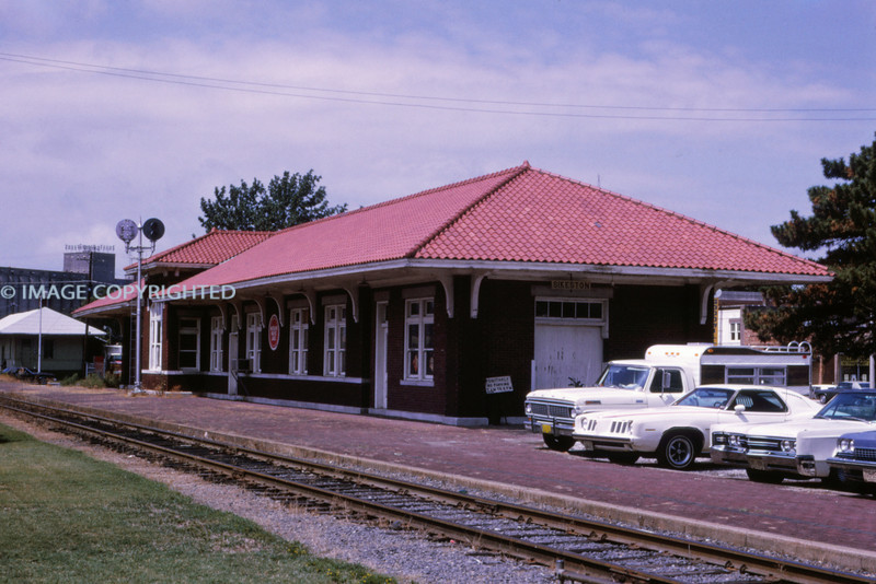 Mopac 213 - Aug 13 1973 - Sikeston Depot MO