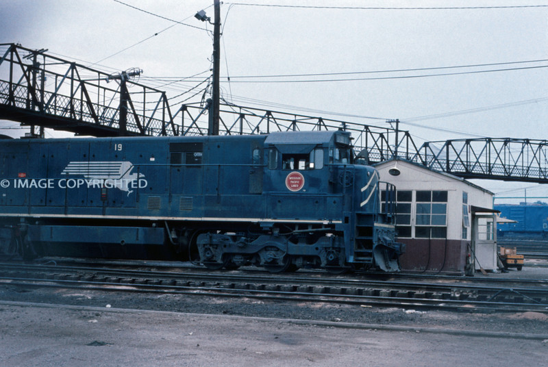 Mopac 221 - Aug 19 1973 - GE unit No 19 - St Louis MO