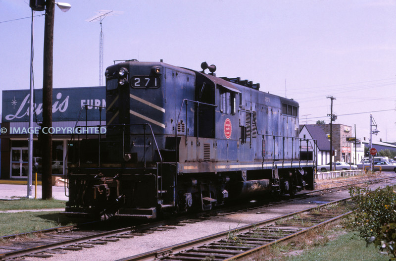 Mopac 217 - Aug 18 1973 -  GP 7 No 271 @ Sikeston MO