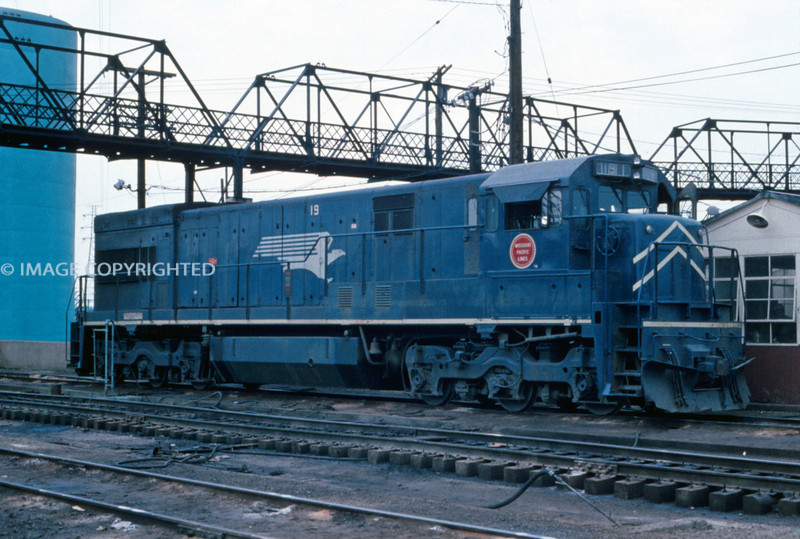 Mopac 222 - Aug 19 1973 - GE Unit 19 - St Louis MO