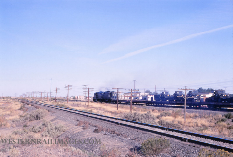 Mopac 213 - Oct 2 1968 - local freight E of Pueblo CO